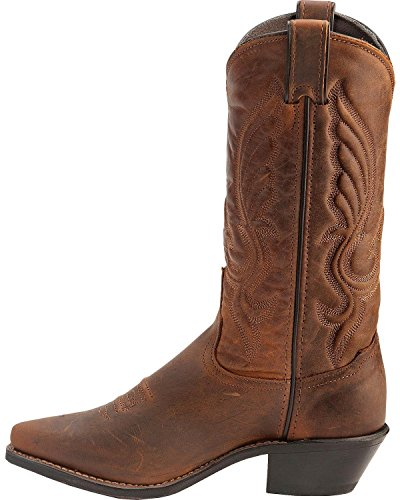 Abilene Womens Cowhide Cowgirl Boot Snip Toe - 9027 Marrone