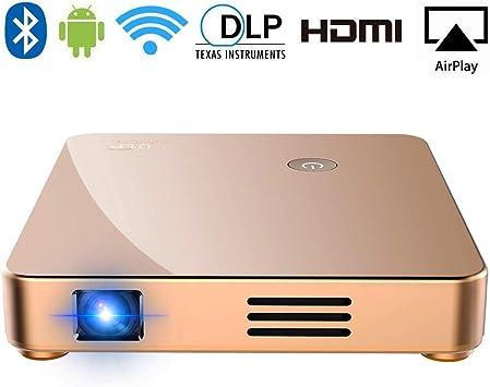SeeYing S1 DLP Mini proyector de vídeo HD 1080p Compatible con ...