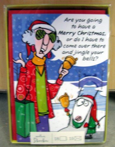 Hallmark Christmas Boxed Cards SBX2801 Maxine Crabby Holidays