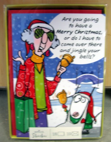 Amazon hallmark christmas boxed cards sbx2801 maxine crabby hallmark christmas boxed cards sbx2801 maxine crabby holidays m4hsunfo