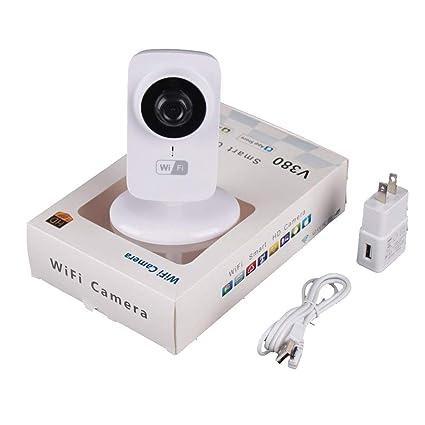 Mini cámara IP WiFi, V380-S1 Mini cámara IP WiFi Seguridad en el hogar