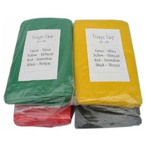 MAYDAY TR07-SET Triage Tarps - Set of 4