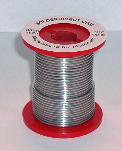 KappAloy9 Aluminum Solder 1/16'' diameter (medium)