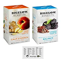 All of us know how important it is to put good things in our bodies to help us stay strong. That desire was the inspiration for the Bigelow Benefits line, everyday teas that fuel your body with good for you ingredients. But of course, flavor ...