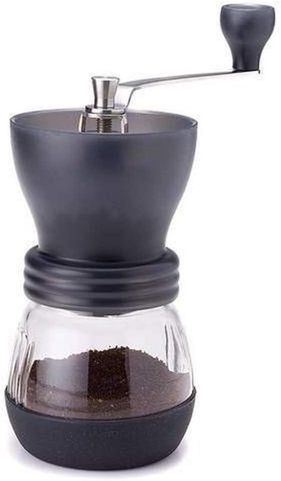 Moedor Triturador de Café Manual Vidro Cozinha Profissional