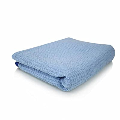 "Chemical Guys MIC_703S_01 Waffle Weave Drying Towel (Blue 25""x 36""): Automotive"