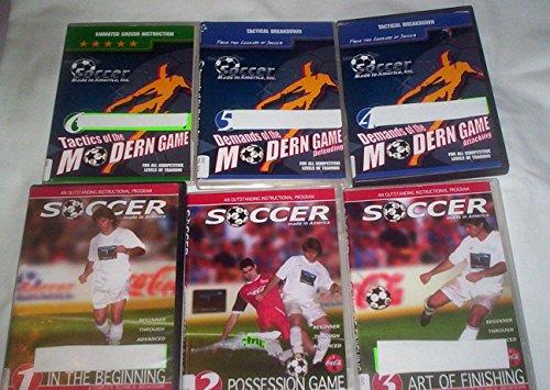 Six Soccer Instructional DVD set - Soccer Made in America