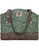 American West Women's Annie's Concealed Carry Half Moon Tote Turquoise One Size