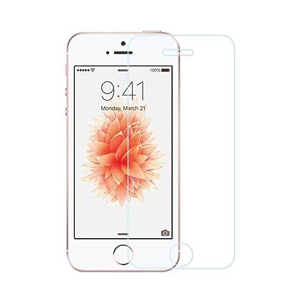 EasyAcc Schutzfolie Kompatibel Für iPhone SE/5S/5C/5, 3D Touch Glas Folie Schutzfolie Panzerglas - 9H Hardness aus gehärtetem