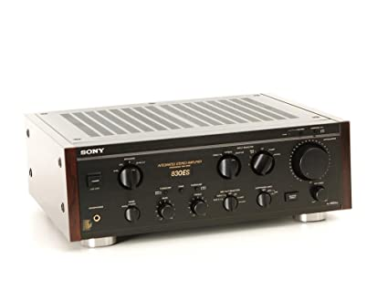 Sony TA de F 830 es Amplificador