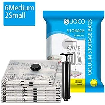 Amazon.com: Bolsas de almacenamiento al vacío, 8 unidades ...