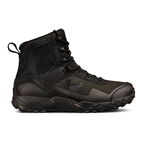 (Under Armour Men's Valsetz Rts 1.5 with Zipper Military and Tactical Boot, 001/Black, 12 )