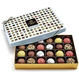 Godiva Chocolatier Patisserie Chocolate Truffle Gift Box, Assorted Treats, Great for Gifting, 24 Count