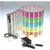 Docooler Car Sticker Music Rhythm LED Flash Light Lamp Sound Activated Equalizer (90x25cm)