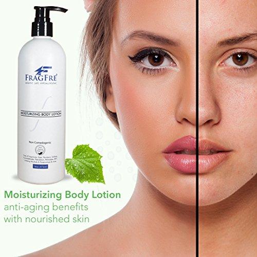 FRAGFRE Moisturizer for Sensitive Skin - Parabens Free Hy...