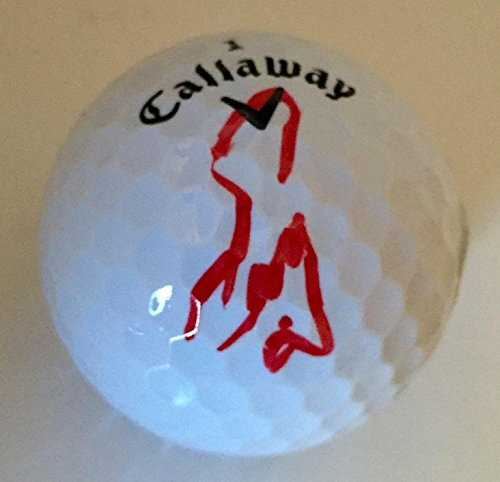Signed Golf Ball Masters - Fuzzy Zoeller MASTERS CHAMPION Signed Calaway Golf Ball COA #2 - PSA/DNA Certified - Autographed Golf Balls