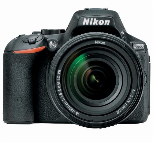 Nikon D5500 DX-format Digital SLR w/ 18-140mm VR Kit (Black)