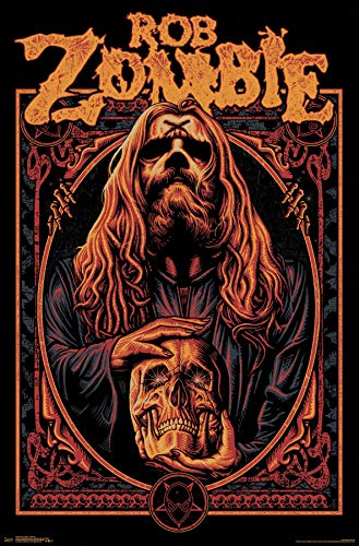 Trends International Rob Zombie - Warlock Wall Poster, 22.375