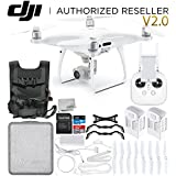 DJI Phantom 4 Pro V2.0/Version 2.0 Quadcopter Essential Travel Bundle