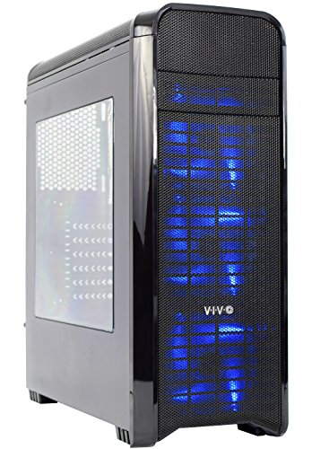 VIVO-ATX-Mid-Tower-Computer-Gaming-Extra-Air-Flow-Black-PC-Case-w-8-Fan-Ports-Side-Window-USB-30-CASE-V07