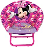 Disney Minnie Mouse Toddler Saucer Chair