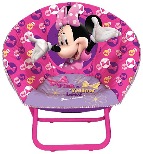 Disney Minnie Mouse Toddler Saucer Chair  sc 1 st  Amazon.com & Amazon.com: Disney Minnie Mouse Toddler Saucer Chair: Toys u0026 Games