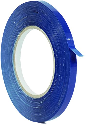 Tape Providers WOD UPVC-24BS Red Produce Poly Bag Sealing Tape x 180 yds. Pack of 1 : 3//8 in Also Available in Multiple Sizes /& Colors