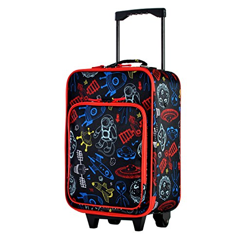 Olympia Kids 17 Inch Carry-On Luggage, Black, One Size by Olympia (Image #6)