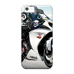 Iphone 5c SPR13856SbFD Provide Private Custom Attractive Yamaha Yzf R1 Image Shock Absorption Hard Phone Case -MansourMurray