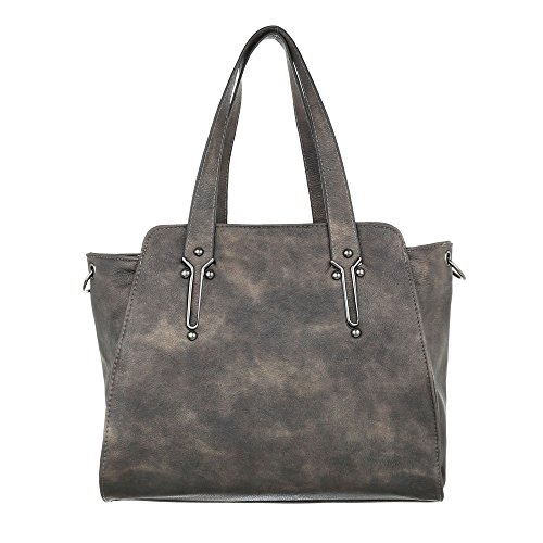 Taschen Handtasche Used Optik Modell Nr.1 Braun
