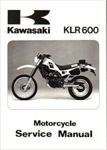 99924105001 19842007 Kawasaki Klr250 Klr600 Klr650 Motorcycle. 99924105001 19842007 Kawasaki Klr250 Klr600 Klr650 Motorcycle Service Manual Manufacturer Amazon Books. Wiring. 1994 Klr 650 Wiring Schematic At Scoala.co