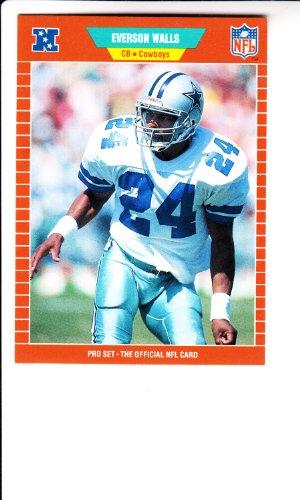 (1989 Pro Set #97 Everson Walls Football Card)
