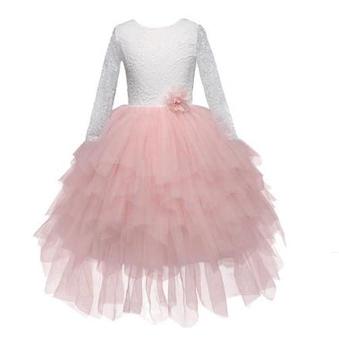 Amazon.com: FACOCO - Vestido de princesa de manga larga para ...