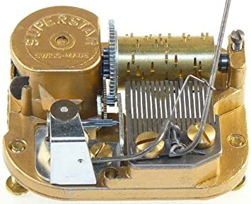 Cajas musicales-ROM mecanismo musical suizo