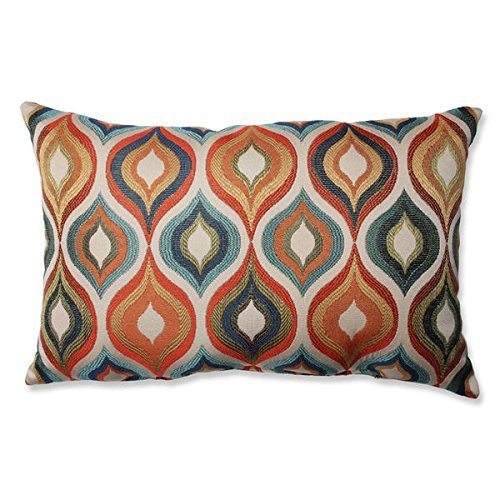 Bed Decorative Throw Pillows Flicker Jewel Rectangular