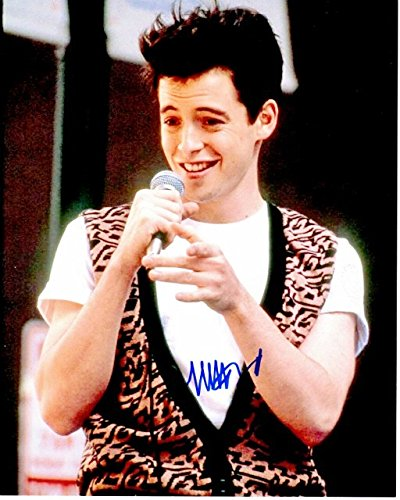 Matthew Broderick Signed - Autographed FERRIS BUELLER'S DAY OFF 8x10 inch Photo - Guaranteed to pass PSA or JSA ()