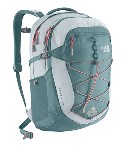 Box Womens School (The North Face Women's Women's Borealis Hydro Green/Snowcone Red One Size)