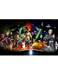 Star Wars Edible Icing Image Cake Topper 1/4 Sheet Image by Whimsical Practicality