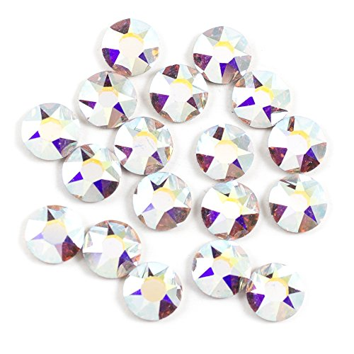 Swarovski - Create Your Style Hotfix 5mm Crystal AB 3 packages of 18 Piece (54 Total Crystals)