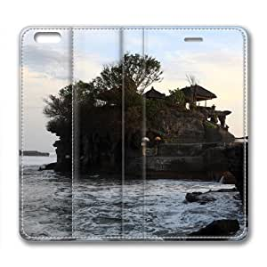 Bali Island Temple of The Sea Leather Cover for iPhone 6 by Cases & Mousepads