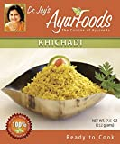 Dr. Jay's Ayurfoods Khichadi 6 Pack - Premium Blend of Basmati Rice, Mung Bean and Spices including Turmeric, FREE of Preservatives, BEST All Natural Ingredients, Vegan, Gluten Free,Ready in Minutes