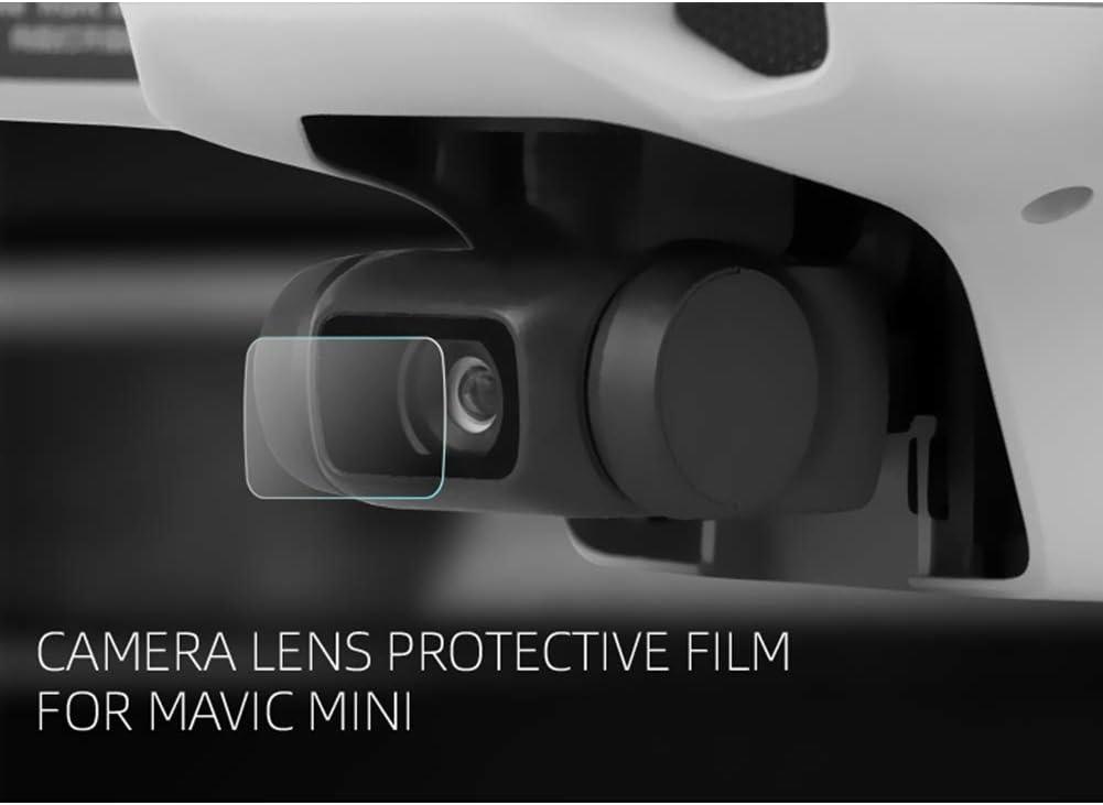 YJYdadaS 2PCS Camera Lens Protector Cover 9H Tempered Film for DJI Mavic Mini Drone