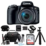 Canon PowerShot SX70 HS 65x Optical Zoom Digital Camera w/ 64GB SD Card Bundle