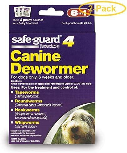 Análisis de Safe-Guard Dewormer para perros (producto antiparasitario)