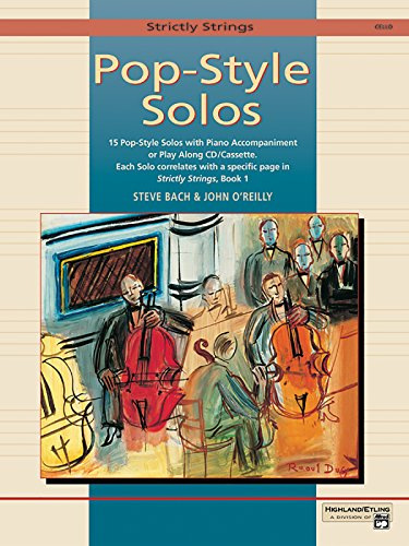 (Strictly Strings Pop-style Solos for Cello: Cello)