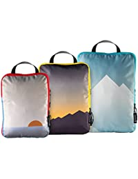 Compression Packing Cubes Set 2.0 - Luggage Organizer for Travel Accessories