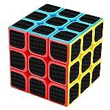New Journey Cubo 3x3 Fibra de Carbono Rotating Puzzles Rendimiento Profesional y excelente Velocidad Suave