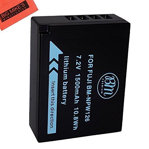 BM Premium NP-W126S Battery for Fujifilm FinePix X-H1, X-A5, X-A10, X100F, X-T10, X-T20, X-Pro1, X-Pro2, 33EXR, HS35EXR, HS50EXR, X-A1, X-A2, X-A3, X-E1, X-E2, X-E2S, 1 X-M1, X-T1, X-T2 Digital Camera