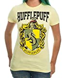 Harry Potter House Crest Hufflepuff Juniors T-shirt