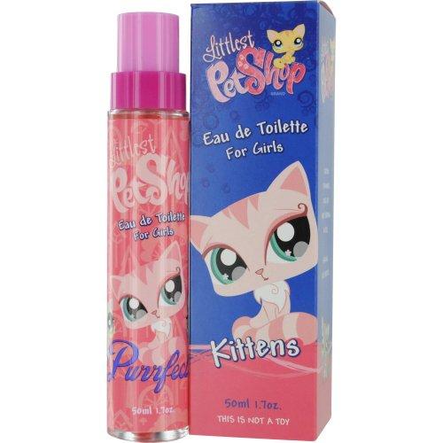 Littlest Pet Shop Kittens Eau De Toilette Spray for Women, 1.7 Ounce
